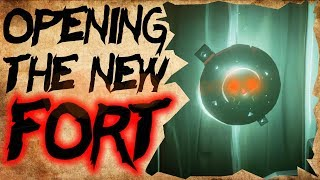 OPENING THE NEW FORT // SEA OF THIEVES - Livestream highlights Molten Sands Fortress #SeaOfThieves