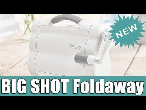 Máy Cắt Sizzix Big Shot Foldaway (bộ Kit)