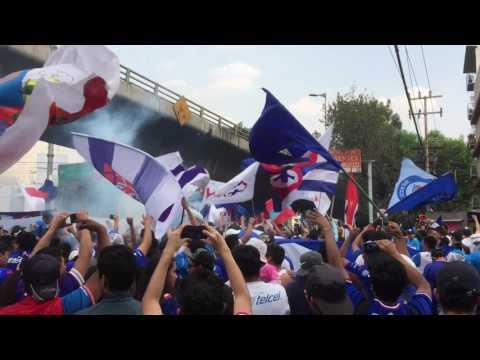 """""""Dale Alegría A Mi Corazón"""" Barra: La Sangre Azul • Club: Cruz Azul"""