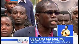 Walimu wadai kuhamishwa kutoka kaskazini mashariki mwa Kenya kwa ukosefu wa usalama