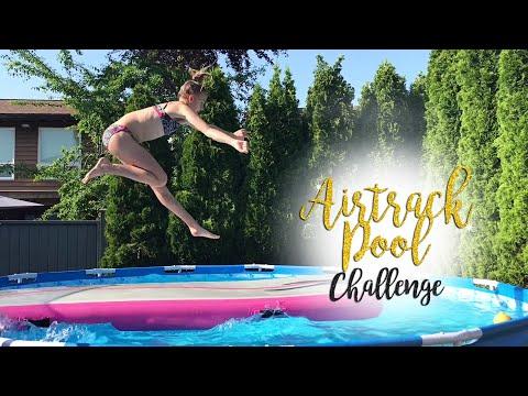 Gymnastics Airtrack Pool Challenge  Carissa SGG