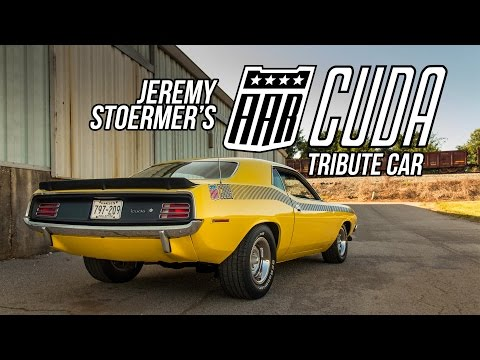 Jeremy Stoermer's 1970 AAR Cuda Tribute Car