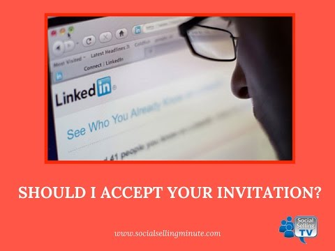 Download Should I Accept Your LinkedIn Invitation? Mp4 HD Video and MP3