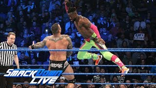 Styles, Hardy & Kingston vs. Bryan, Orton & Samoa Joe: SmackDown LIVE, Feb. 19, 2019