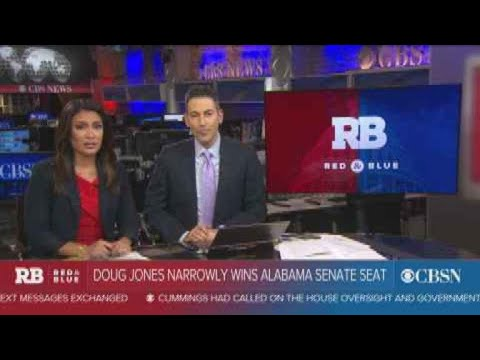 Democrat Doug Jones wins Alabama's Senate seat