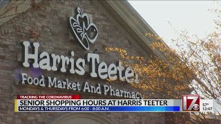 Senior shopping hours begin at Harris Teeter