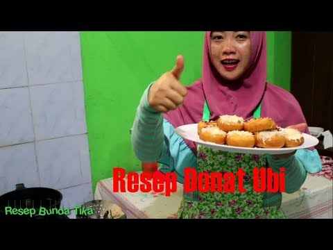 Resep Donat Ubi Super Enak Anti Gagal