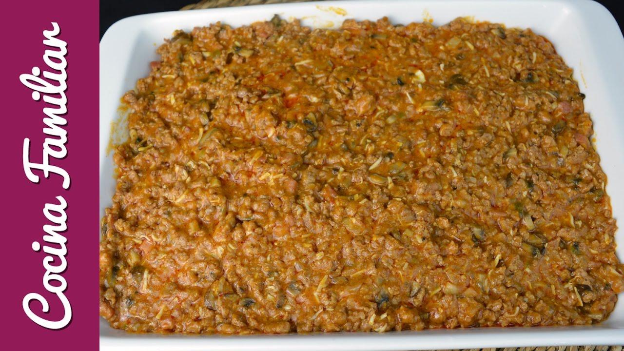Relleno de carne para empanadas | Javier Romero