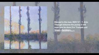Blessed is the man, BWV 57