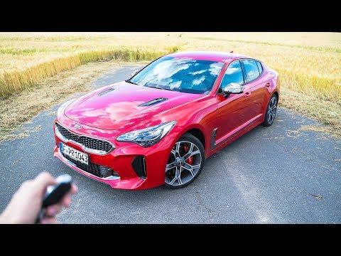 So viel Kia Stinger GT (366PS) bekommt IHR für Euro 57.200€   Review