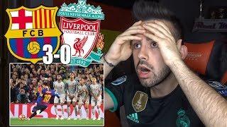 HINCHA Del REAL MADRID Reacciona Al FC BARCELONA 3-0 LIVERPOOL Semifinales Champions League