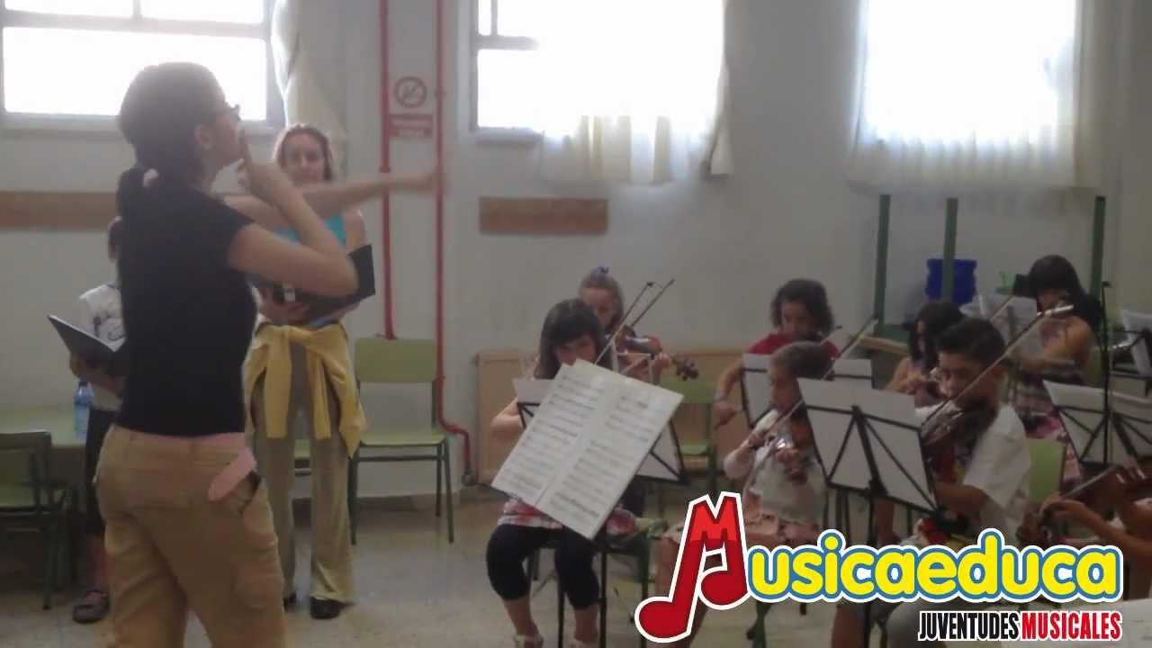 Ensayando para el Festival - Gloria de Vivaldi