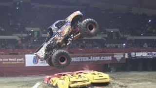 preview picture of video '2013 MonsterJam - Stone Crusher Freestyle at Hampton Coliseum'