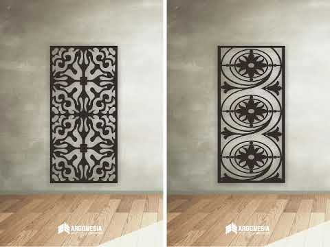 catalogue motif | catalogue laser cuting metal | katalog desain | by argonesia