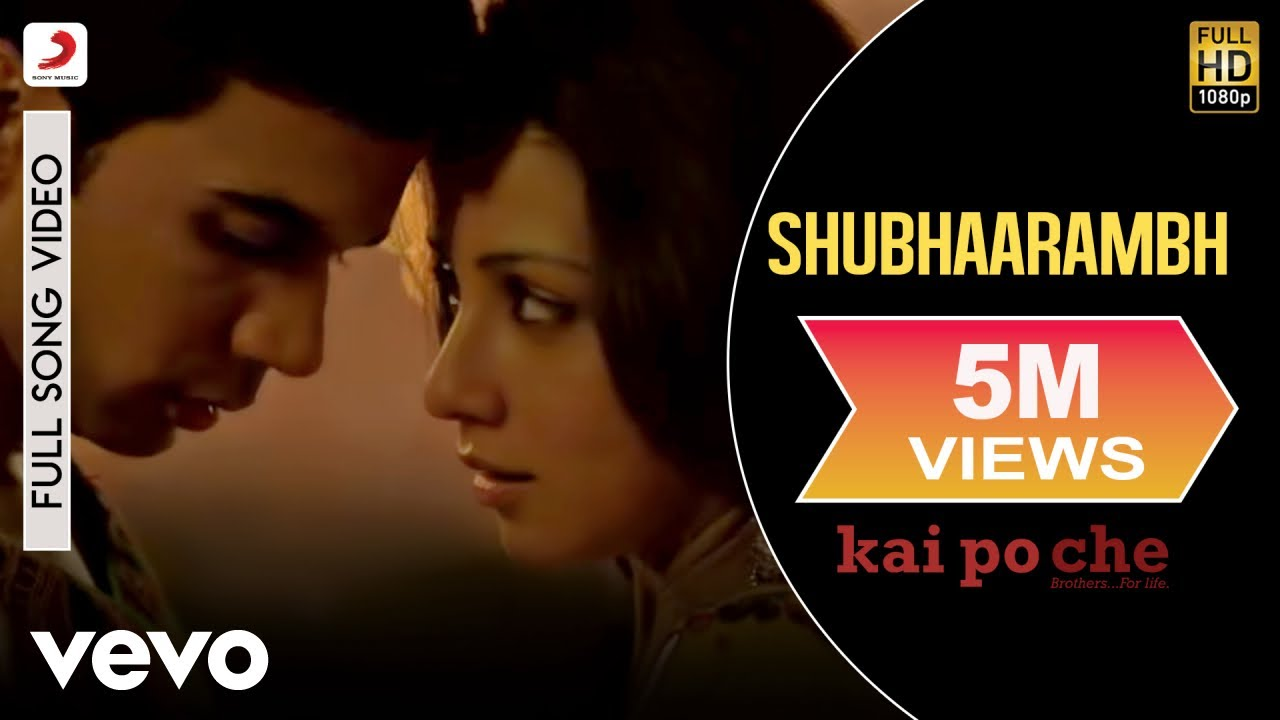 Shubhaarambh Lyrics / Kai Po Che / Amit Trivedi / Signature Lyrics