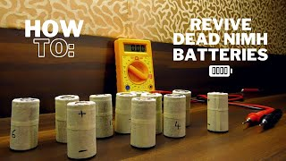 How To Revive Dead/Deep-Discharged NiMH Batteries Easily