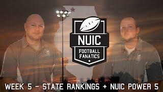 Week 5 | State Rankings + NUIC Power 5