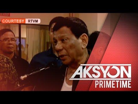 [News5]  Pres. Duterte: Ilang sundalo, dawit sa 'Red October Plot'