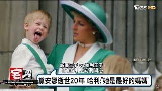 「黛安娜逝世20週年」哈利王子:她是最好的媽媽!宅男的世界 20170731