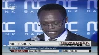 NIC bank posts an elevent percent increase in profit before tax