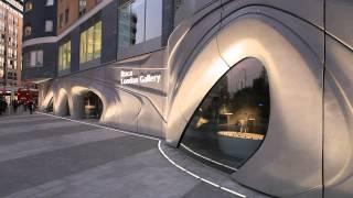 ROCA London Gallery © Zaha Hadid Architects