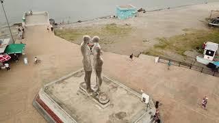 Али и Нино ✔️ Статуя 360 */ Ali and Nino a statue in city of Batumi