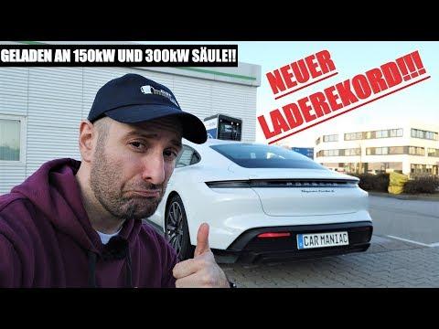KEINER schneller: Porsche Taycan - NEUER absoluter LADEREKORD!!!