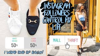 MY INSTAGRAM FOLLOWERS CONTROL MY LIFE FOR A DAY ☆