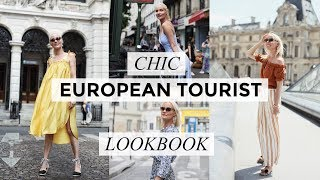 CHIC EUROPEAN TOURIST LOOKBOOK | 9 OUTFITS | Style | Liv Judd