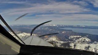 PilotCAM Surfair PC-12 into Tahoe