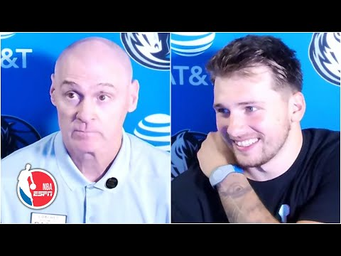 Rick Carlisle compares Luka Doncic's court vision to that of Larry Bird, Jason Kidd | NBA on ESPN