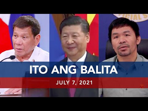 [UNTV]  UNTV: ITO ANG BALITA | July 7, 2021