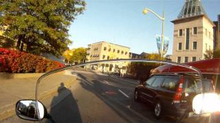 preview picture of video 'Yamaha TMax - Gatineau to Ottawa - Fall Colours'