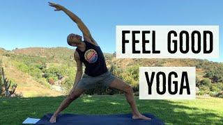 40min Dynamic Yoga for Hip Flexibility, Strength & Control with Antranik (Free Yoga Class!)