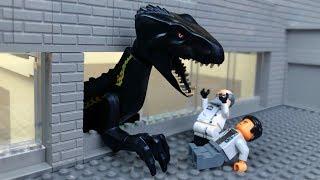 LEGO Jurassic World 🔴 Indoraptor vs Indominus Rex- 6