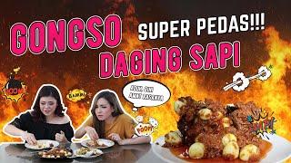 CARA MEMBUAT GONGSO DAGING SUPER DUPER PEDAS WITH ISSABELLA