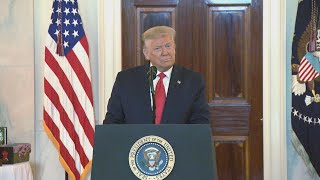President Trump Delivers Remarks at Spirit of America Showcase