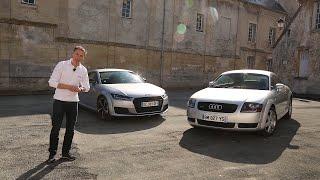 Audi TT 1998 vs Audi TT 2016 : c'était mieux avant ?