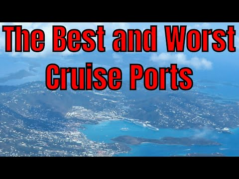 The Best And Worst Cruise Port Facilities For Visiting Vacationers?
