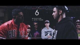 KOTD - Rap Battle - Dizaster vs Aye Verb