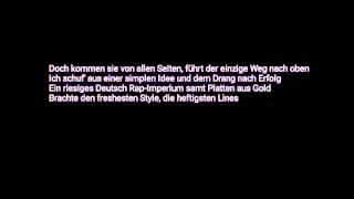 Kollegah Genozid Lyrics ZHT4 11.12.2015