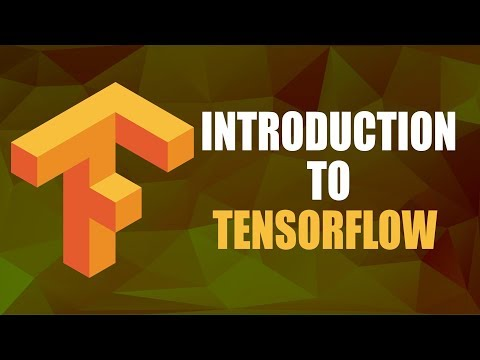 Introduction to TensorFlow | Tensorflow Tutorial | Part 1\/4 | Eduonix