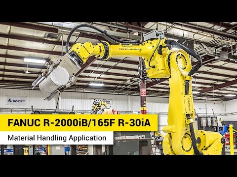 FANUC R-2000iB/165F - R-30iA - Material Handling Application