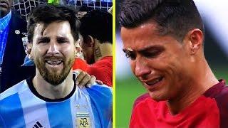 СЛЁЗЫ ВЕЛИКИХ ФУТБОЛИСТОВ   Лучшие моменты в футболе 2016