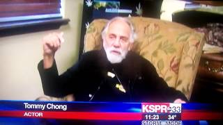 Tommy Chong Vistis Marijuana Dispensary in Colorado