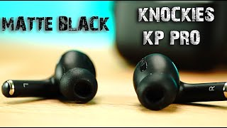 AirPod Pro Clone.  Matte Black -First Look At The Knockies KP Pro Matte Black AirPod Pro Copy.
