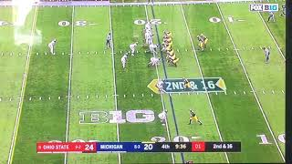 Ohio State vs. Michigan 2017 Delay of Game or NAH??