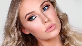My HOLY GRAIL Flawless Full Glam Makeup Look | Lauren Curtis