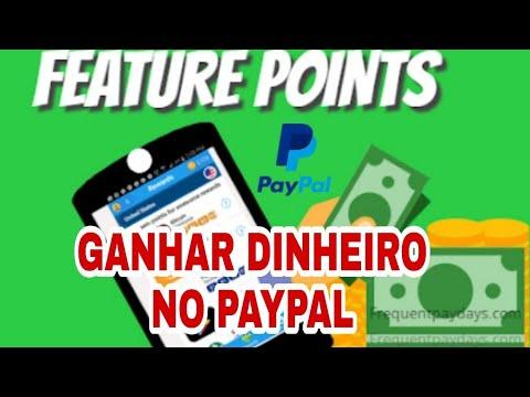FeaturePoints: Ganhar dinheiro no paypal