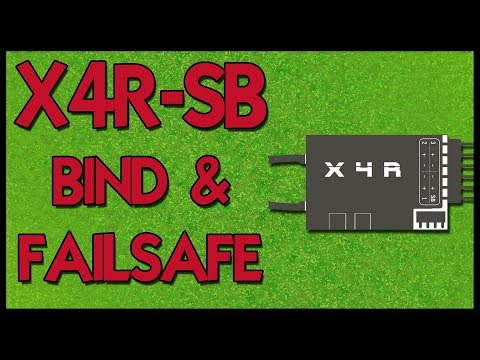 FrSky X4R-SB Bind